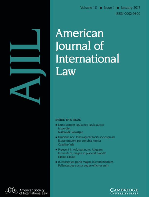 new essay in ajil on international court of justice nuclear  pleased to note my most recent publication which appears in the latest edition of the american journal of international law in the section that analyzes